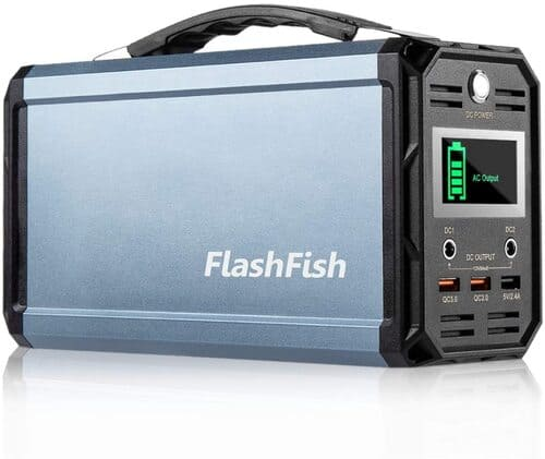 7 FlashFish Solar Generator