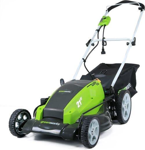 3 Greenworks Corded Lawn Mower 25112