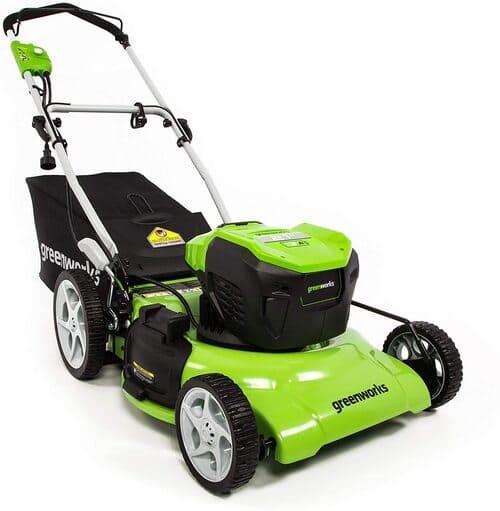 5 Greenworks Lawn Mower MO13B00