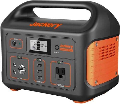 5 Jackery Explorer 500 Generator