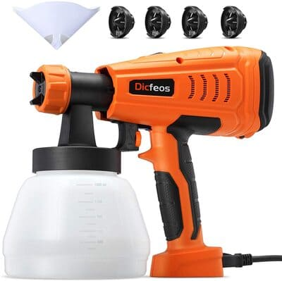 10 Dicfeos Paint Sprayer, 700W High Power