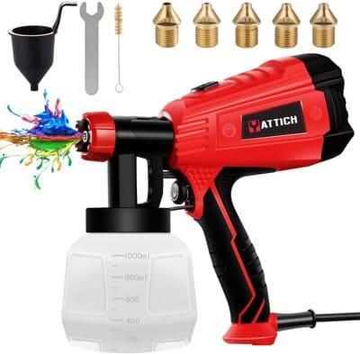 2 YATTICH Paint Sprayer, High Power HVLP Spray Gun
