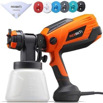 3 REXBETI 700 Watt High Power Paint Sprayer