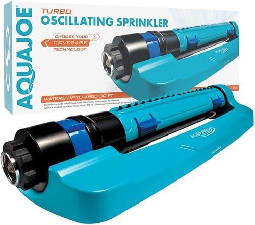 4 Aqua Joe SJI-TLS18 Oscillation Lawn Sprinkler
