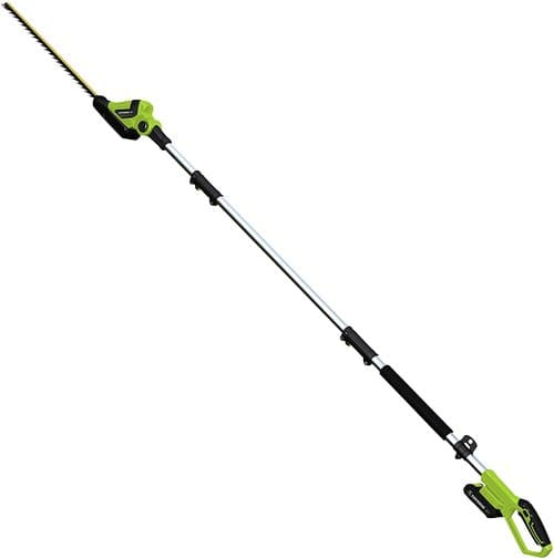 4 Earthwise LPHT12022 Pole Hedge Trimmer