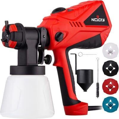 6 NoCry 1200ml min Electric Paint Sprayer