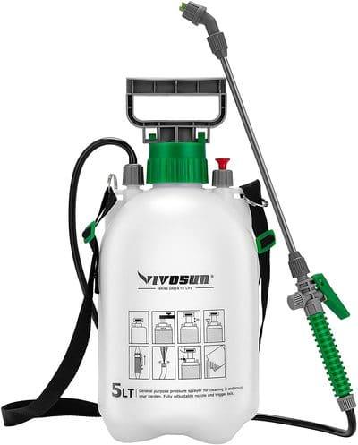 8 VIVOSUN 1.3 Gallon Lawn and Garden Pump