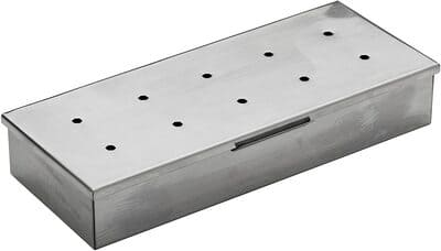 2 Char-Broil Stainless Steel Smoker Box
