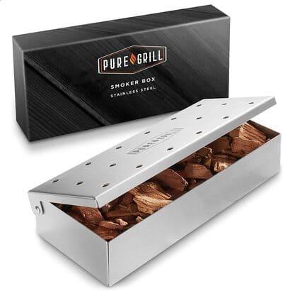 3 Pure Grill BBQ Smoker Box